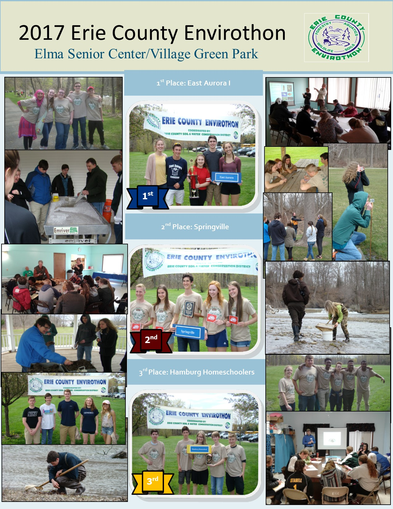 Click Here For Information On The Envirothon